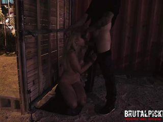 Русское порно съем на улице