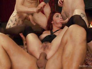 Порно анальные групповухи с мамашами